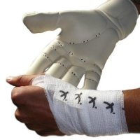 GOALKEEPERS WRIST & FINGER PROTECTION TAPE 5CM WEISS