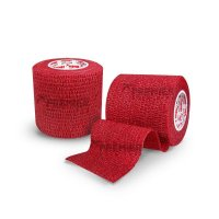 GOALKEEPERS WRIST & FINGER PROTECTION TAPE 5CM ROT