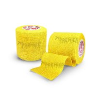 GOALKEEPERS WRIST & FINGER PROTECTION TAPE 5CM GELB